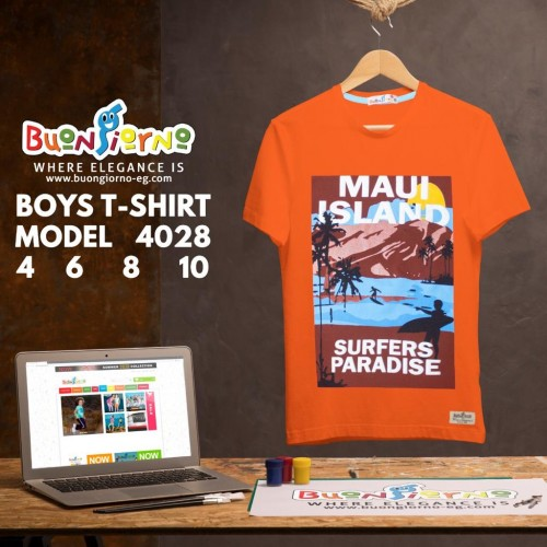 T-shirt  ISLAND  for Boys