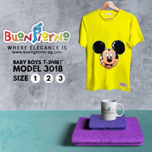 T-shirt  Mickey Mouse  for Baby Boys