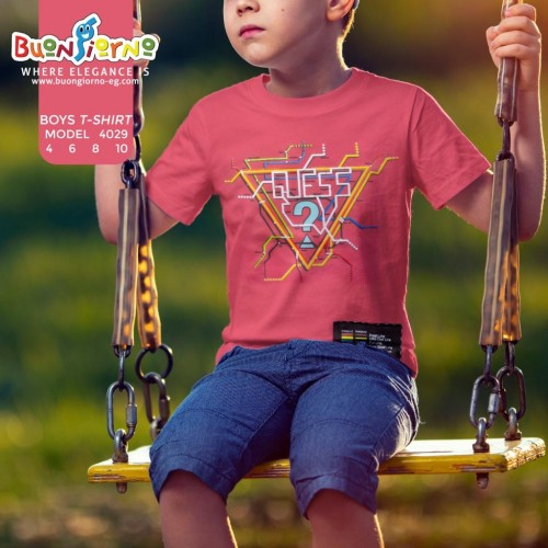 T-shirt  Triangles for Boys