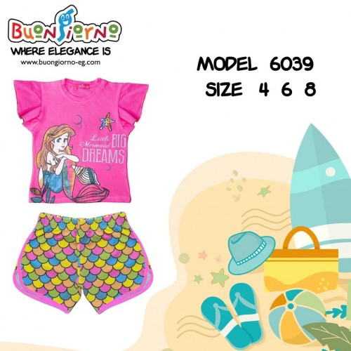 Girls Set ( Mermaid )
