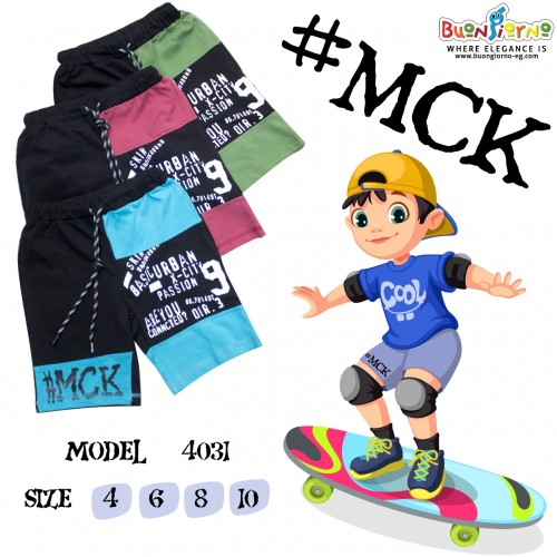Shorts MCk for Boys