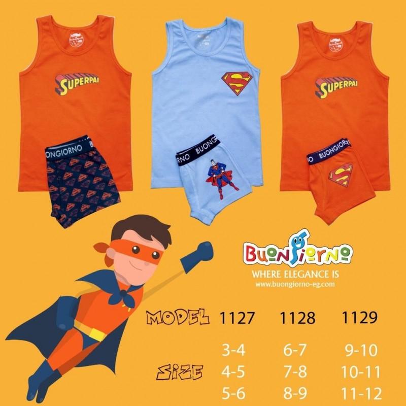 Underwear set ( Super Man )- [3:6]