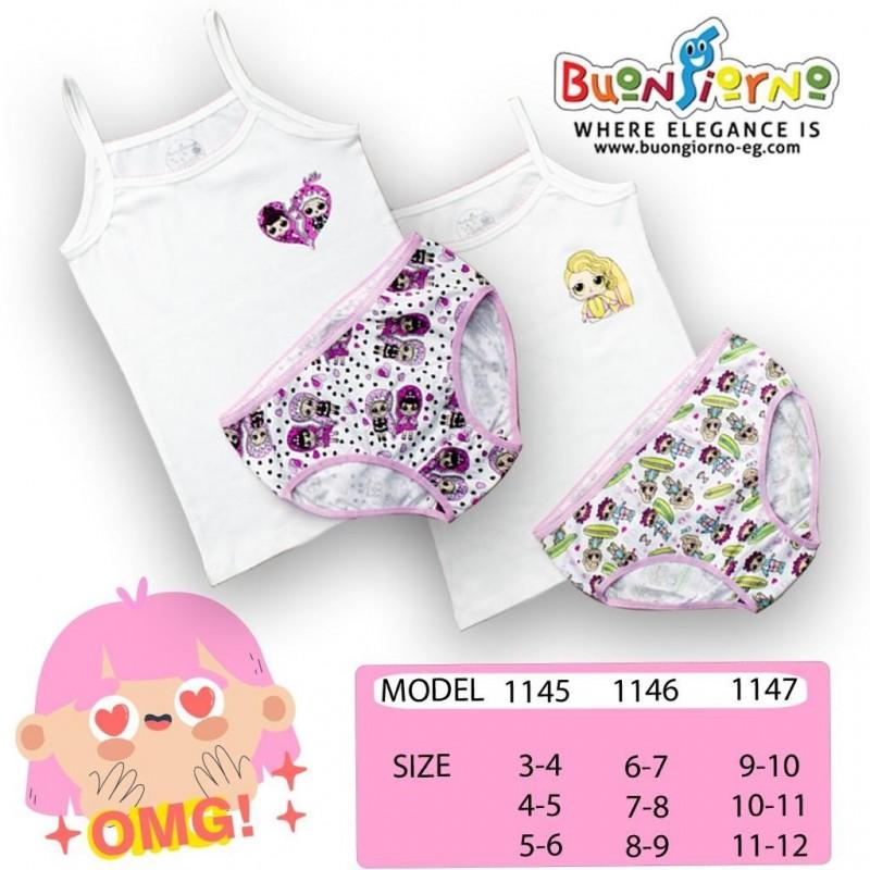 Underwear set (  LOL  )- [9-12]
