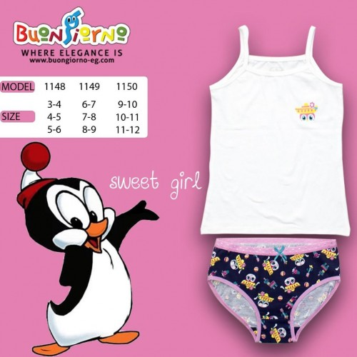 Underwear set (  Penguin  )- [3-6]