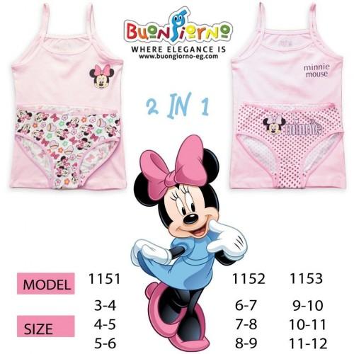 Underwear set (  Minnie Mouse  )- [6:9]