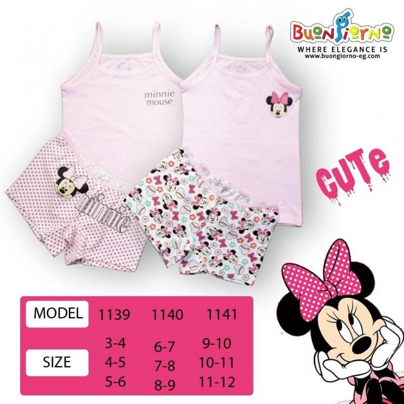 Underwear set ( Minnie Mouse   )- [3-6]