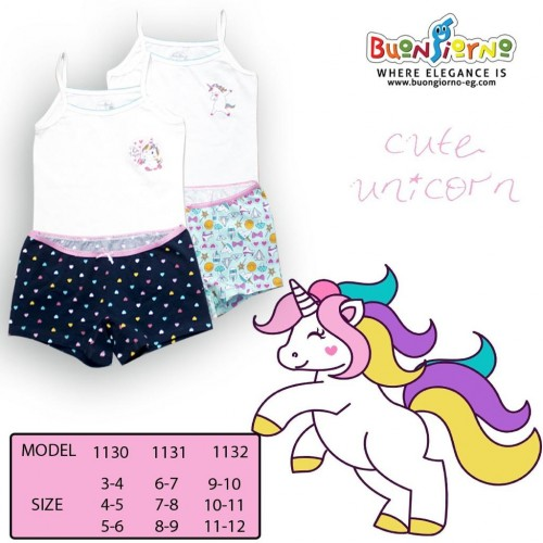 Underwear set ( unicorn  )- [6:9]