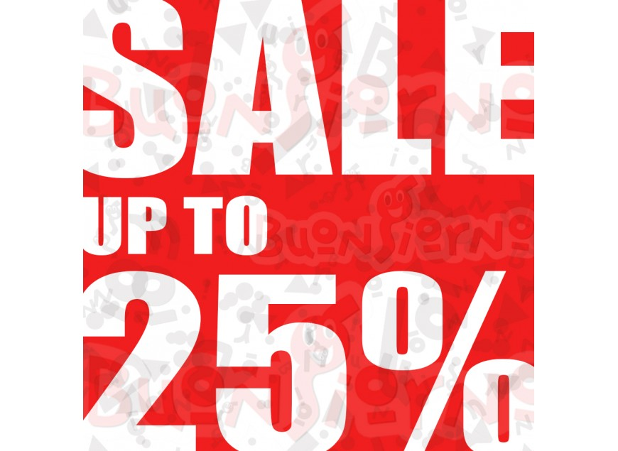 Sale Up To 25%