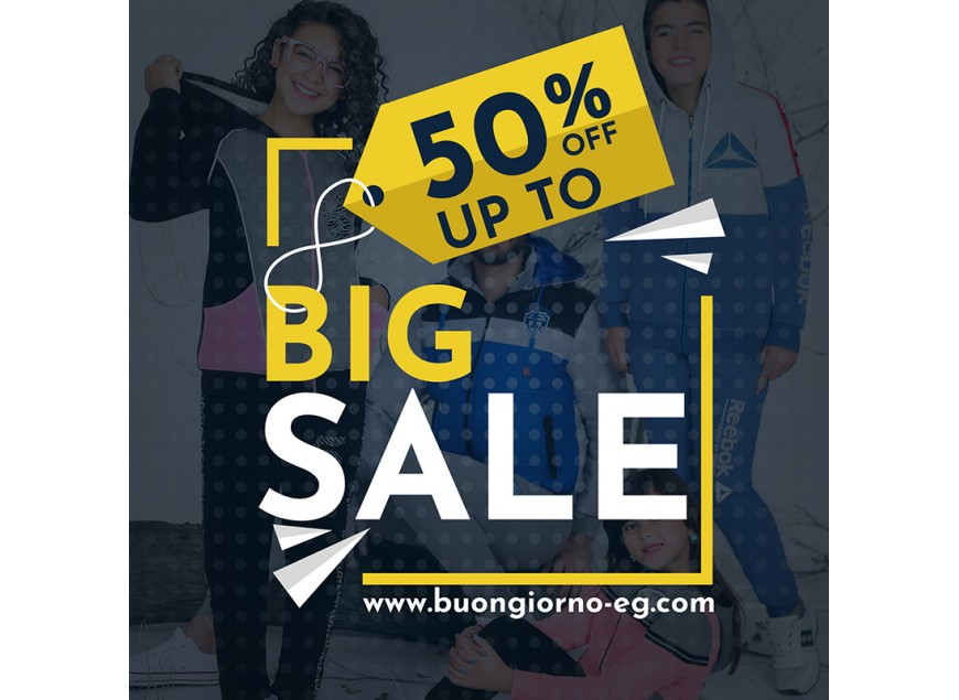 Shop now and get up to 50% off